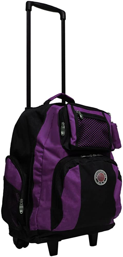 Transworld 22-inch Carry-on Rolling Backpack