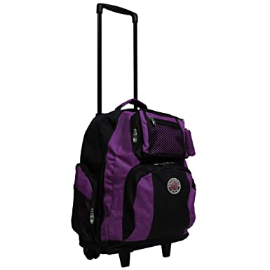 TRANSWORLD Roll-away 22-inch Carry-on Rolling Backpack Backpack
