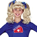 Girls Cheerleader Costume Wig