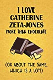 I Love Catherine Zeta-Jones More Than Chocolate (Or About The Same, Which Is A Lot!): Catherine Zeta-Jones Designer Notebook