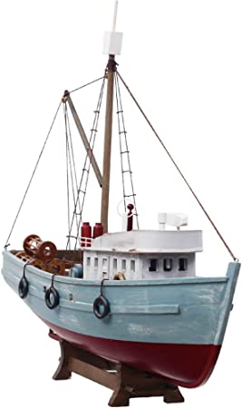 Veliero in legno stile mediterraneo decorazione della casa intagliato a mano barca modello nautico regalo