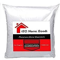 IZO Home Goods Premium Hypoallergenic Throw Pillow Insert...