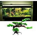 aquarium football - Angelwing Aquarium Artificial Plastic Bonsai Tree Plant Brance 9.5