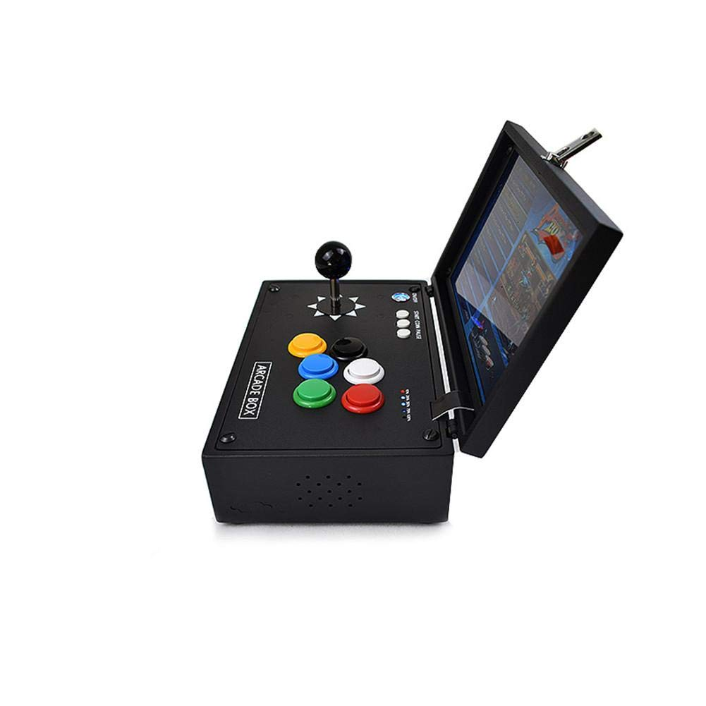 Topaty Portable 10'' Screen 2177 in 1 Arcade Game Machine Retro Console with Arcade Joystick 3.5mm Audio Output Support HDMI Jamma Output by Topaty (Image #3)