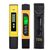Proster PH Meter with TDS EC Meter 0.00-14.00 Digital PH Tester with...