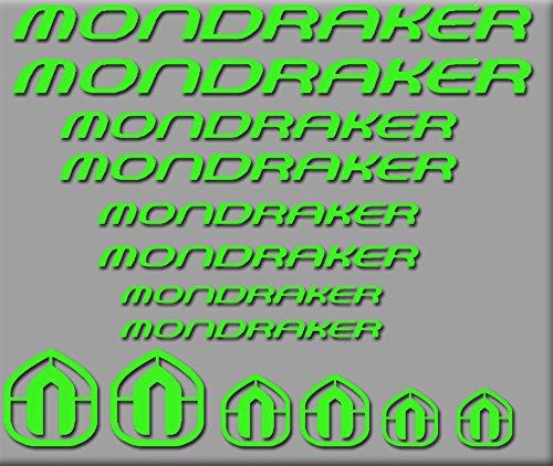 PEGATINAS-MONDRAKER-BICI-R180-STICKERS-AUFKLEBER-DECALS-AUTOCOLLANTS-ADESIVI