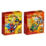 Lego Super Heroes Micro Spider Thor Bundle Building Kit (168 Piece)