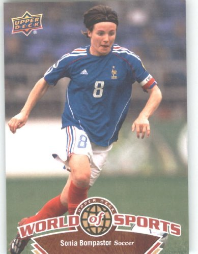 (2010 Upper Deck World of Sports #120 Sonia Bompastor/Women's Soccer Cards/Washington Freedom /)