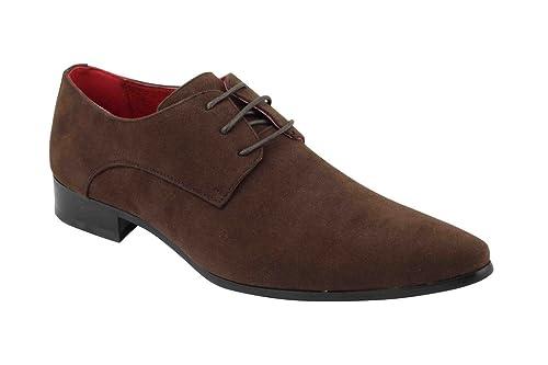 Chaussures De 41Amazon Ville Rossellini Lacets Pour Marron À Homme 6ybf7Yg