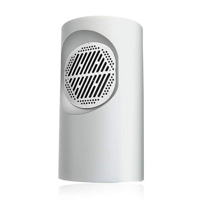 Umiwe Mini Calentador de Ventilador Eléctrico,Heater Mini Estufa Eléctrica Calentador de Espacio Personal Silencioso con 2 Segundos de Calentamiento y ...