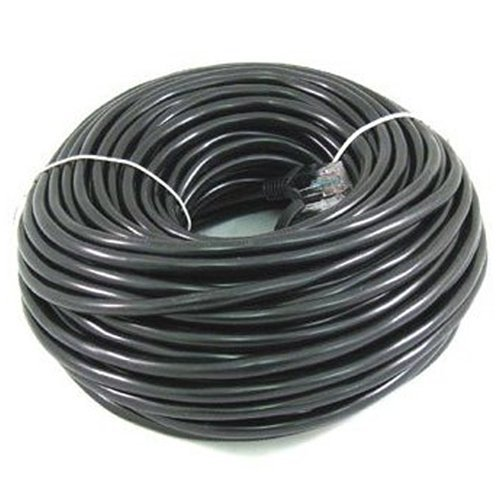 Cable N Wireless 200 ft CAT5 CAT5e LAN Network Ethernet Patch Cable Black