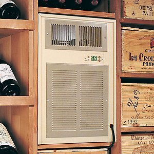 - Breezaire WKL-3000 Wine Cellar Cooling Unit -Max Room Size = 650 cu ft