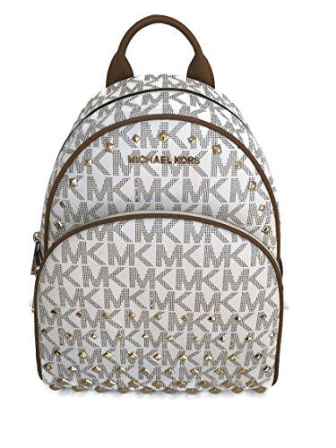 05be0bc8287 ... czech galleon michael kors abbey medium backpack mk signature stud  school bag 27997 47e2a c4791 ...