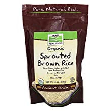 NOW Foods - Organic Sprouted Brown Rice - 16 oz.
