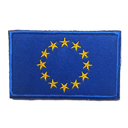 Shoppy Star European Union EU Flag Europe Euro Stars Badge Patch