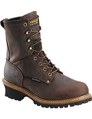 Carolina Boots: Mens 8 Inch Waterproof Logger Boots CA8821