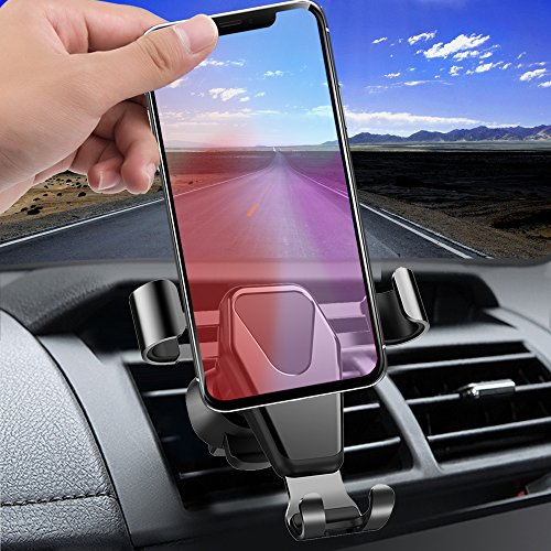 Car Mount, KOZOPO Smart No Touch Cell Phone Holder for Car Air Vent Phone Holder with Auto Lock and Auto Release for iPhone X/8/7/Plus/6s/6 Galaxy/S8/S7/S6/Note 5 Nexus 6, Up to 6.0 in