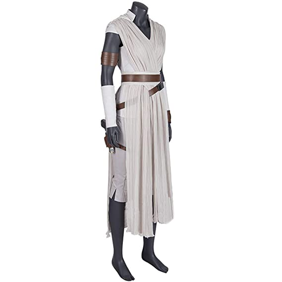 nihiug Star Wars 9 Skywalker Rise Cosplay Disfraz Actriz Rey ...