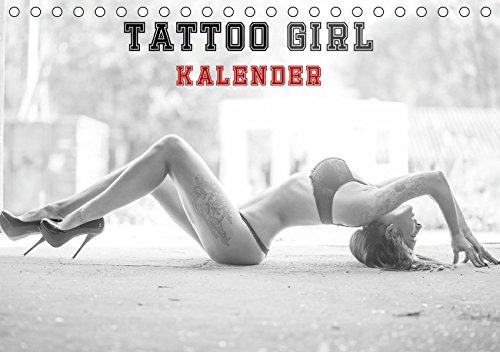 (TATTOO GIRL KALENDER (Tischkalender 2019 DIN A5 quer): TATTO GIRL KALENDER (Monatskalender, 14 Seiten ))