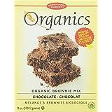 European Gourmet Bakery Organic Chocolate Brownie Mix, 12-Count