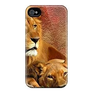 New Hard Cases Premium Iphone 6plus Skin Cases Covers(lionsscreen)