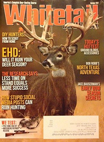 Whitetail Journal Magazine October 2017 | EHD ruining your deer season?