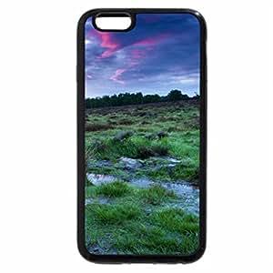iPhone 6S / iPhone 6 Case (Black) beautiful sky over grassy wetland