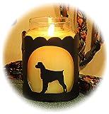 PupLife Brittany Dog Breed Jar Candle Holder