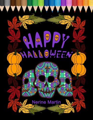 Happy Halloween: Family Coloring Book for Fun and Stress Relief]()
