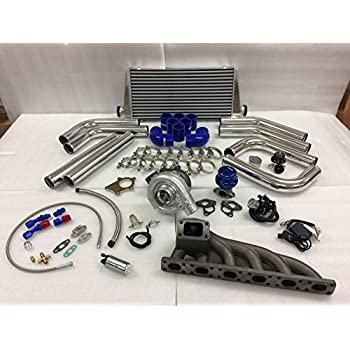 BMW 92-99 E36 M50 M56 T3T4 .63 Turbo Kit Intercooler BOV Manifold