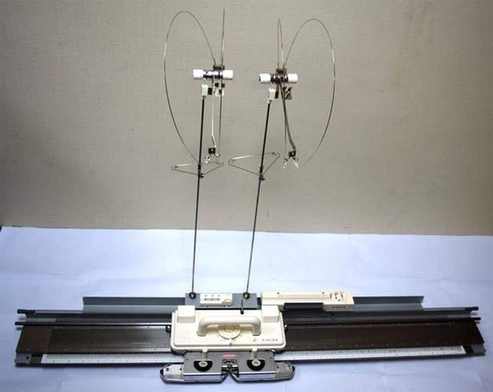 Singer/Silver Reed Sa7P Fine Gauge Punch Card Knitting Machine