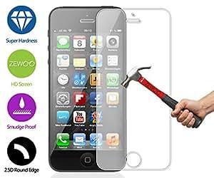 Para Apple iPhone 5 5G 5S / iPhone SE (4 pulgadas) Protector de Pantalla ZeWoo® Cristal Vidrio Templado Premium (9H *2.5D, 0,33mm)