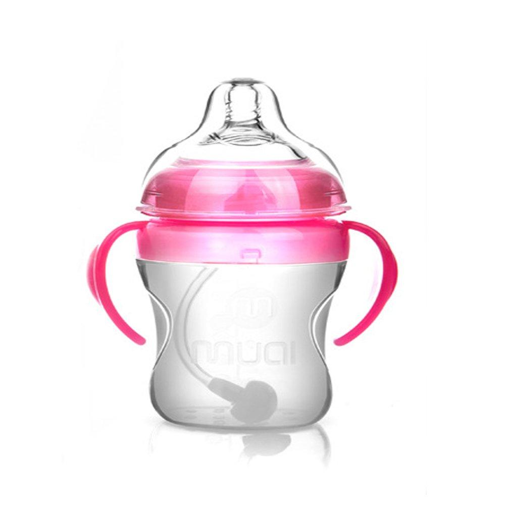 Amazon.com: Baby Bottle, Muai 3 en 1 Biberón Juego sin BPA ...