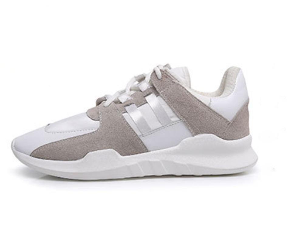 chaussures plates de sport occasionnels chaussures de course dentelle chaussures automne Mme chaussures d'ascenseur
