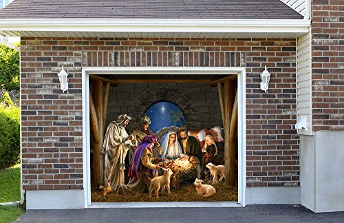 Outdoor Decoration Nativity Scene Christmas Holiday Home ...