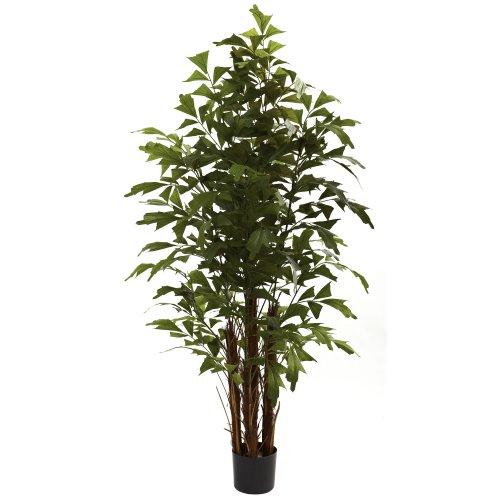 Nearly Natural 5363 Fishtail Palm Tree, 6-Feet, Green