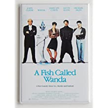 A Fish Called Wanda Movie Poster Fridge Magnet (2 x 3 inches)