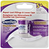 Dentek Temparin Max Lost Filling & Loose Cap Repair, One Step Instant Pain Relief, 5+ Repairs, 0.04 Oz