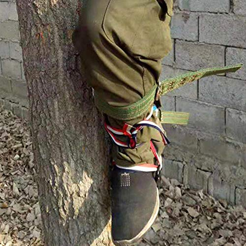 VGEBY1 Throwing Rope Bag Multiple-Functional Nylon Rope Sling Bag for Rock and Tree Climbing