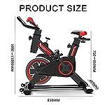 YUANP-Excersize-Stationary-Bike-Spin-Indoor-Sunny-Health-Fitness-Cycling-Bike-con-Sensori-di-Pulsazioni-Manuali