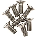 8-Pack of Honda/Acura Brake Disc Rotor Screws by Mission Automotive - Stainless Steel