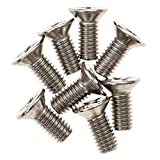 #9: 8-Pack of Honda / Acura Brake Disc Rotor Screws by Mission Automotive - Stainless Steel