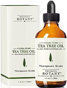 Tea Tree Oil (Australian) - Therapeutic Grade - 100% Pure and Natural - Brooklyn Botany - 1 fl. oz