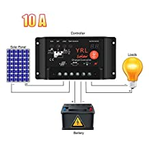 Waterproof Solar Charge Controller Anti-Lightning Intelligent Regulator Adapter with 10A 12V/ 24V 120W/ 240W for Power Energy/ Street Lighting System and Environment Monitor etc