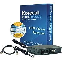 Korecall 2 Line USB Phone Recorder (DHL Shipping)