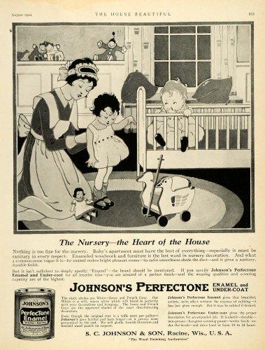 1920-ad-babysitting-infant-johnsons-perfectone-enamel-undercoat-baby-sitter-crib-original-print-ad