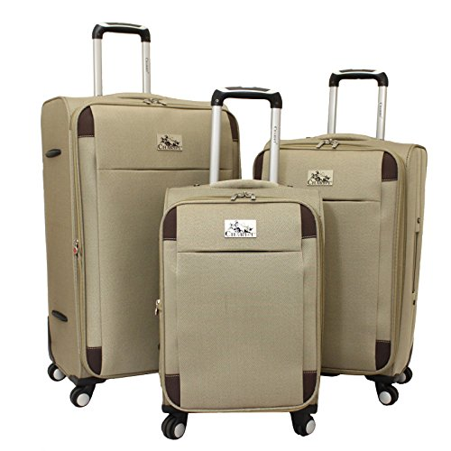 chariot-milan-3-piece-lightweight-upright-spinner-luggage-set-khaki-one-size