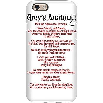 Amazon.com: CafePress - Grey's Anatomy Iphone 6 Tough Case
