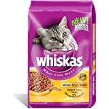 WHISKAS MEATY SELECTIONS Chicken and Turkey Flavors Dry Cat Food 15 Pounds