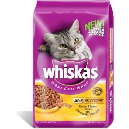 WHISKAS-MEATY-SELECTIONS-Chicken-and-Turkey-Flavors-Dry-Cat-Food-15-Pounds